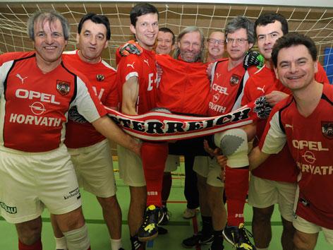 Das Österreichische Priester-Fußball-Team