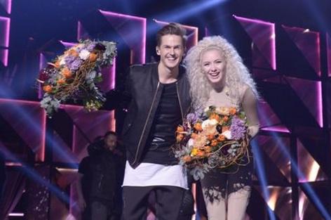 David Lindgren und Wiktoria
