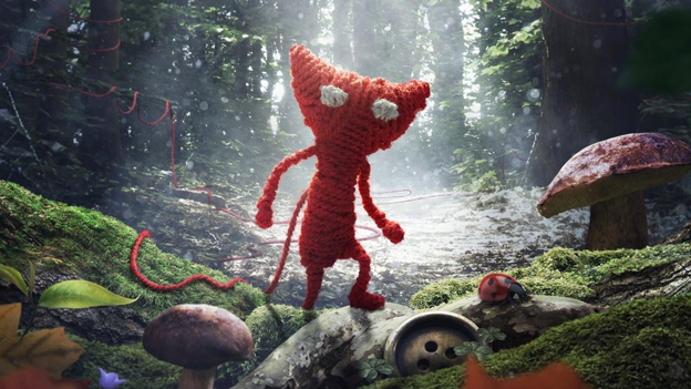 "Screenshot ""Unravel"""