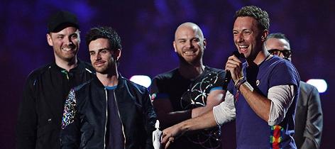 Coldplay bei den Brit Awards