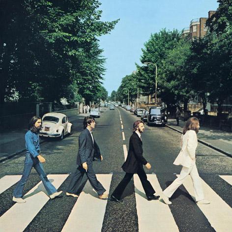 """Cover des Beatles-Albums """"Abbey Road"""""""