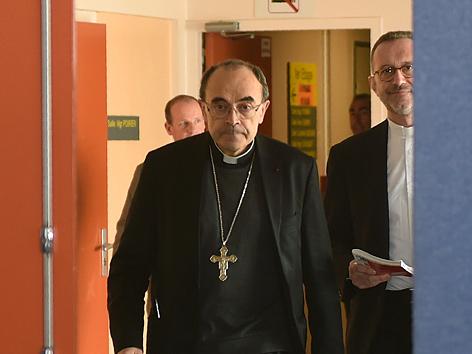 Erzbischof von Lyon, Kardinal Philippe Barbarin