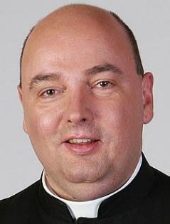 Portrait von Pfarrer Franz Brei