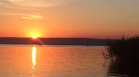 Sonnenuntergang in Wieden am Neusiedlersee