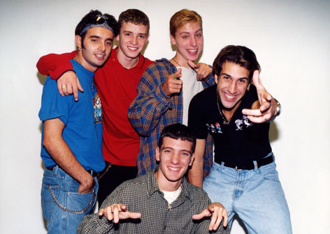 N Sync in den 90ern