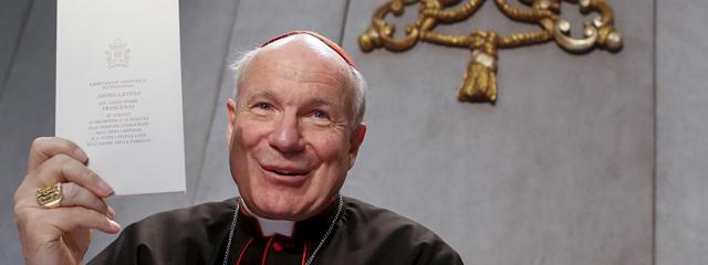 Kardinal Schönborn präsentiert Papstschreiben Amoris Laetitia