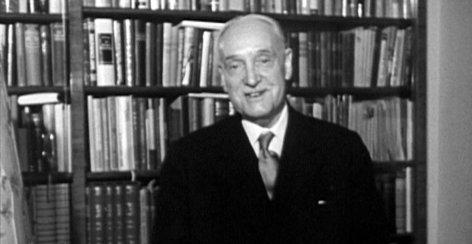 Baumeister der Republik  Adolf Schärf