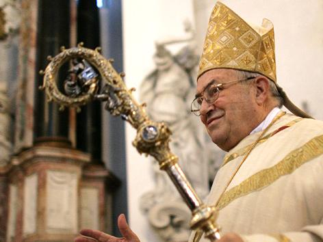 Der deutsche Bischof von Mainz, Karl Lehmann