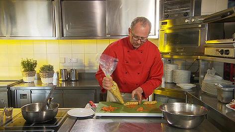 Küchenchef  Reinhard Wind