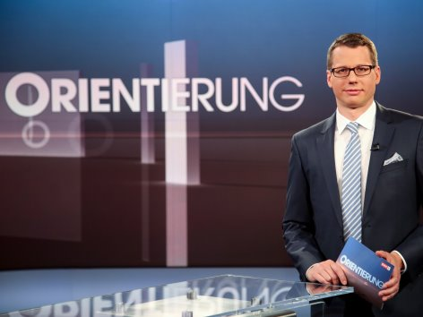 """Christoph Riedl-Daser im """"Orientierung""""-Studio"""