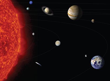 Sonnensystem: die Sonne und die Planeten