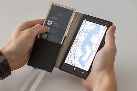 Biegsame Smartphone-Hülle