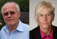 Porträt von Heinz Slupetzky und Andrea Fischer