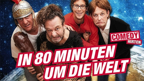 Das Plakat der Comedy Hirten
