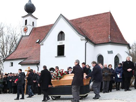 Begräbnis von Franziska Jägerstätter am Samstag, 23. März 2013, in St. Radegund (OÖ)