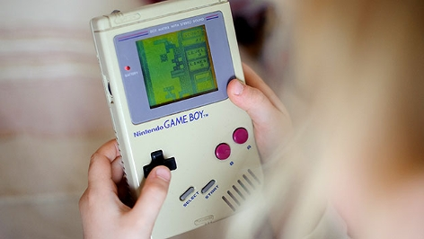 Tetris auf dem Gameboy