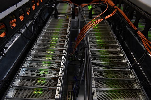Server-Raum an der ZAMG