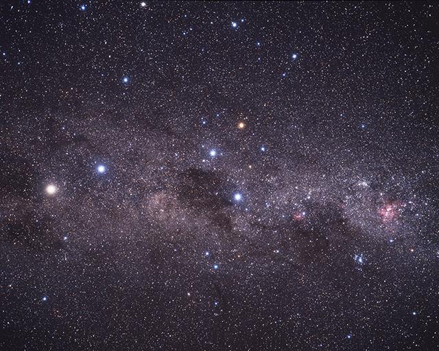 STernehimmel mit Alpha Centauri