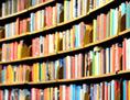Bücher in Bibiothek