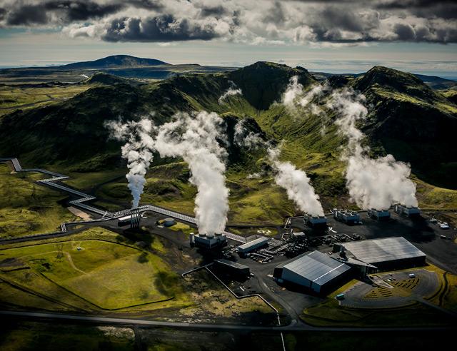 Kraftwerk in Island