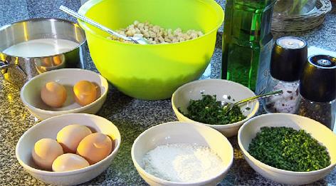 Rezept Mining Eierspeisknödel Eierschmalzknödel
