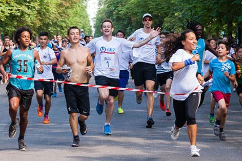 U-Run for Kids in der Prater Hauptallee