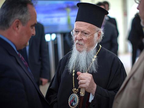 Der Ökumenische Patriarch von Konstantinopel Bartholomaios I.