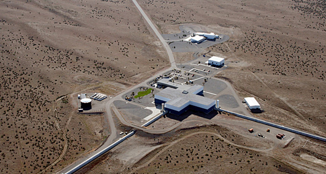 Ligo-Observatorium in Hanford, USA