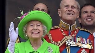 Queen am Balkon