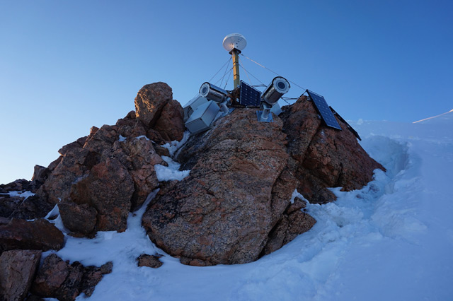 Kamera in Grönland