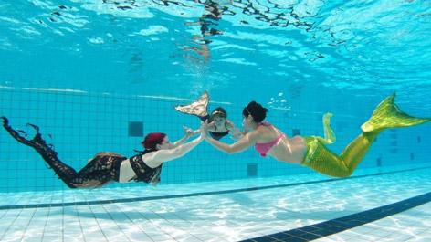 Meerjungfrauen-Treffen