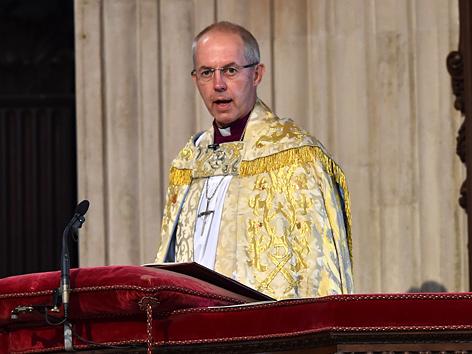 Anglikanerprimas Erzbischof Justin Welby