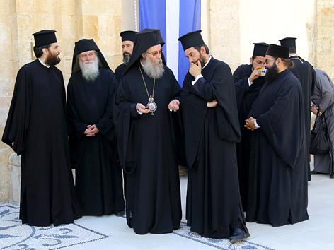Mehrere Patriarchen beim orthodoxen Konzil auf Kreta