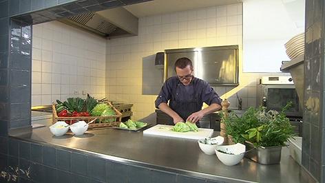 Küchenchef Michael Strobl