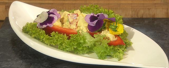 Huhn-Currysalat