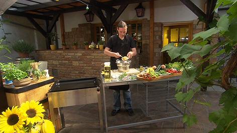 Küchenchef Chris Imre