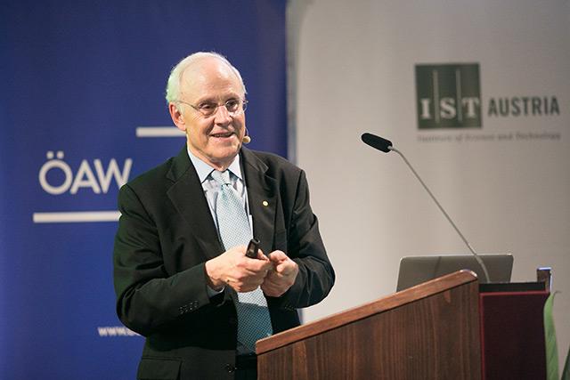 Physik-Nobelpreisträger David Gross
