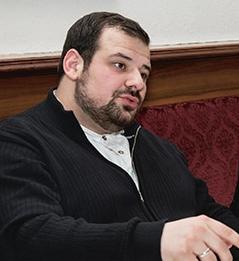 Imam Ramazan Demir und der Rabbiner Schlomo Hofmeister