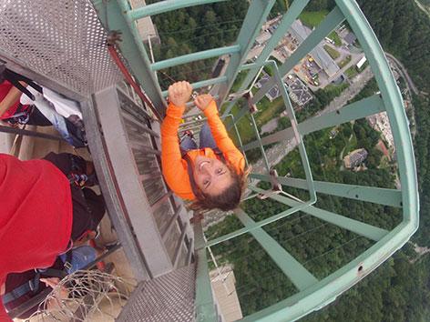 Jumping europabrücke bungee The 10