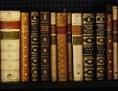 Alte Bücher in einer Bibliothek