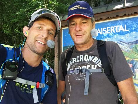 Wanderkamerad ist Gerhard Berger