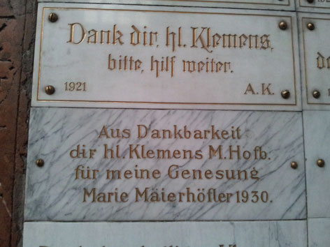 Kirche Maria am Gestade Wien Klemens Maria Hofbauer