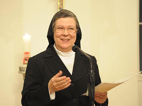 Schwester Beatrix Mayrhofer