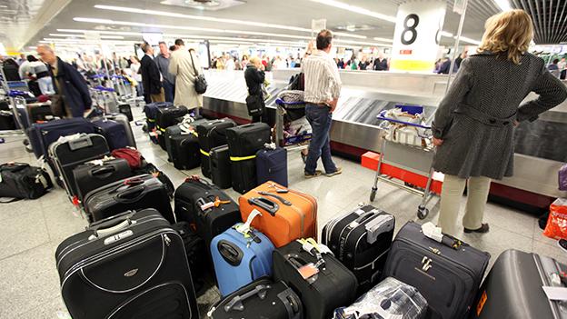 Chaos am Flughafen