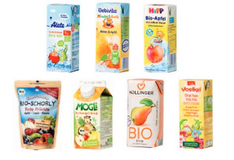 Saftpäckchen für Kinder