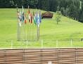 Das neue Kongresszentrum in Alpbach von außen