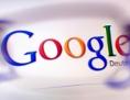 Google-Logo auf Bildschirm