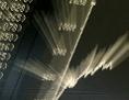 Aktienkurve des DAX an der Börse Frankfurt zeigt steil nach oben
