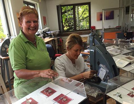 Mitarbeiterinnen der Langer GmbH