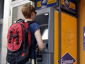 Bankomaten von Euronet